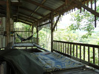 Balcony at Farmer's Lodge