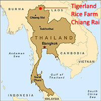 Map of Chiang Rai